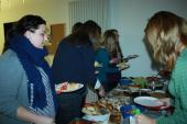About 50 guests enjoyed the ASL Event Committee Thanksgiving dinner
