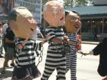 Protest: Bush, Cheney, & Rice