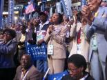 Delegates @ Michelle Obama Speech