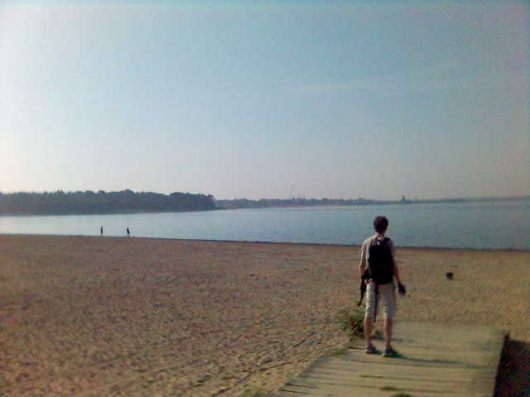 Lake Cospuden is only a 20 minute bike ride off Campus