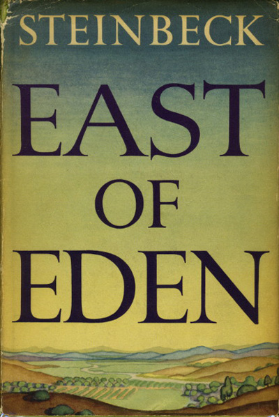a review of east of eden by john steinbeck What amounts to a working journal affixed to the pages of the first draft of east of eden (1952) in the form of letters addressed to steinbeck's editor, the late pascal covici.