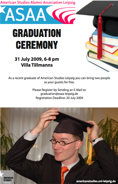 sample graduation program